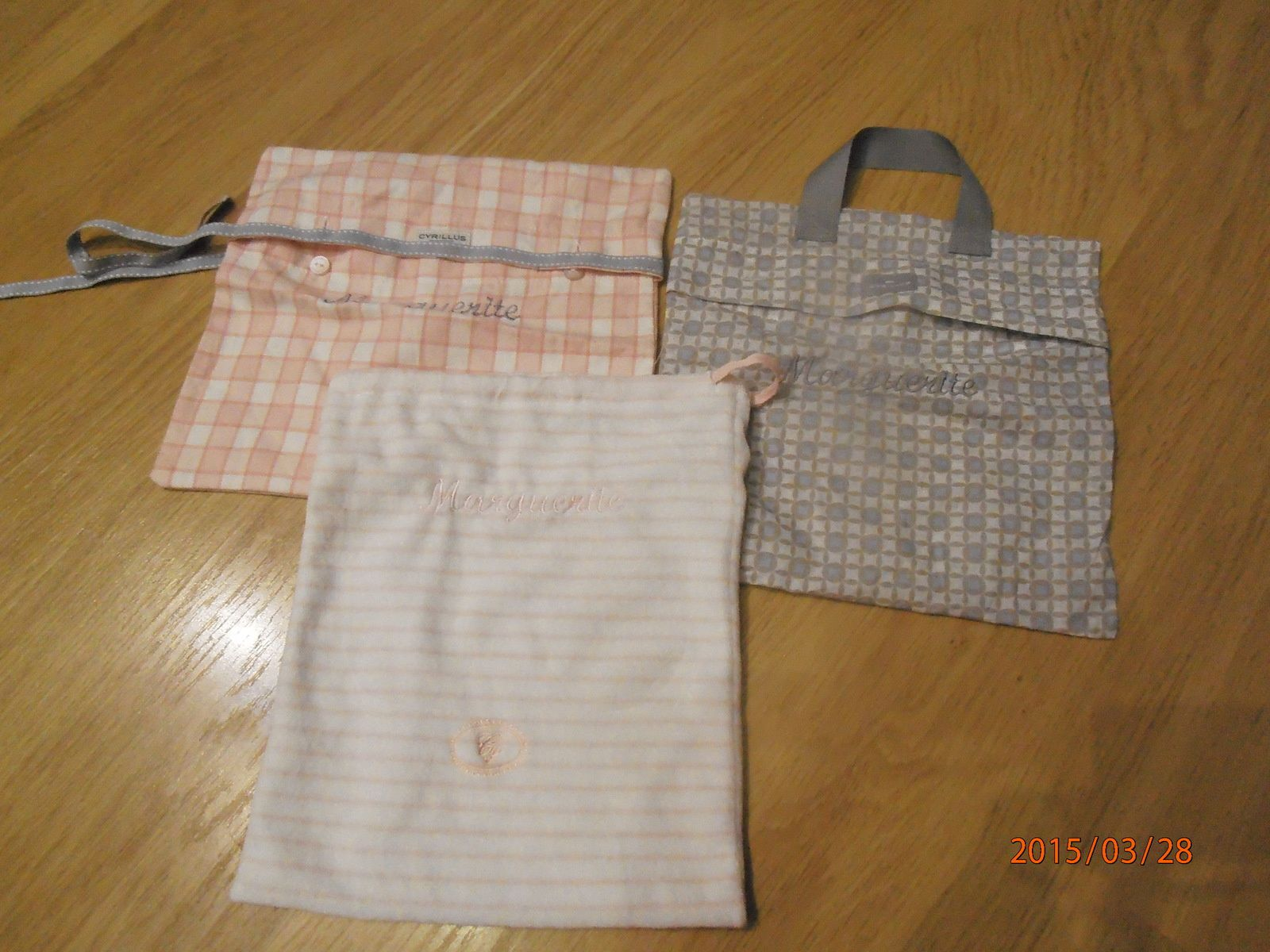 diverses broderies ou customisations