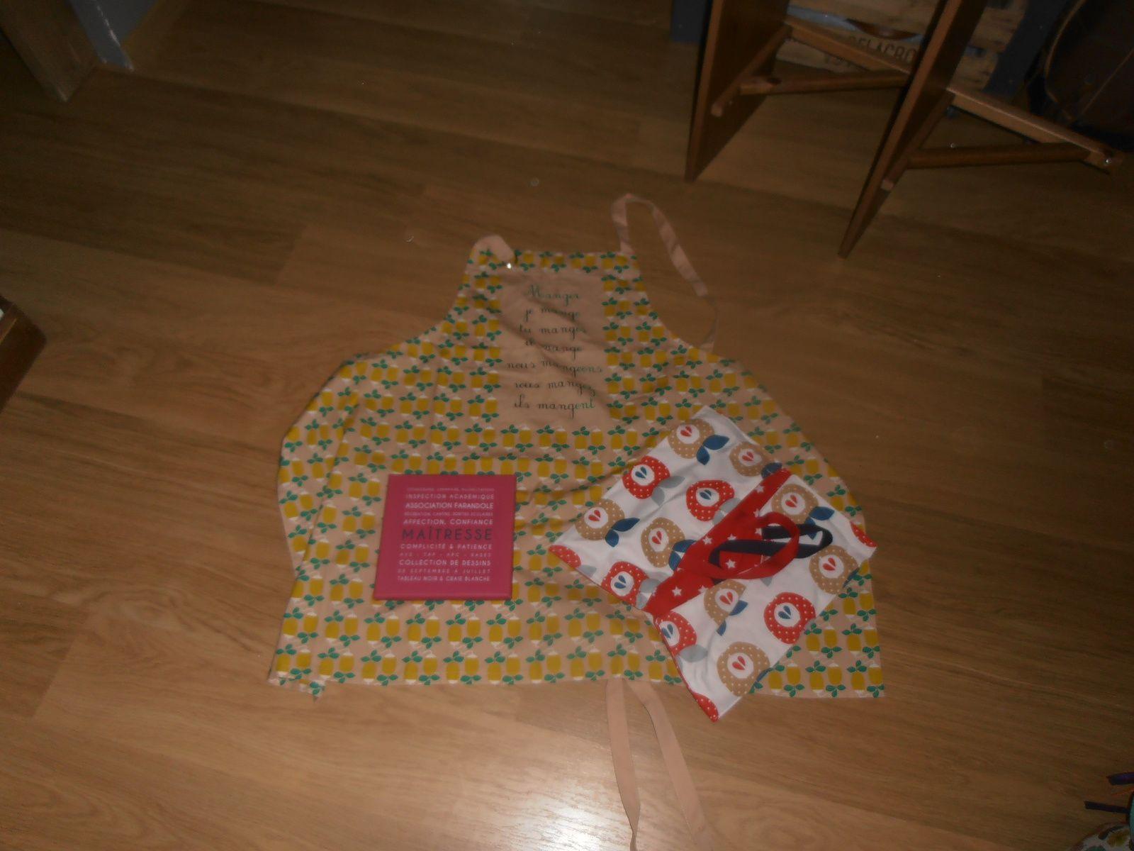 cadeaux de fin d'année scolaire juin 2016