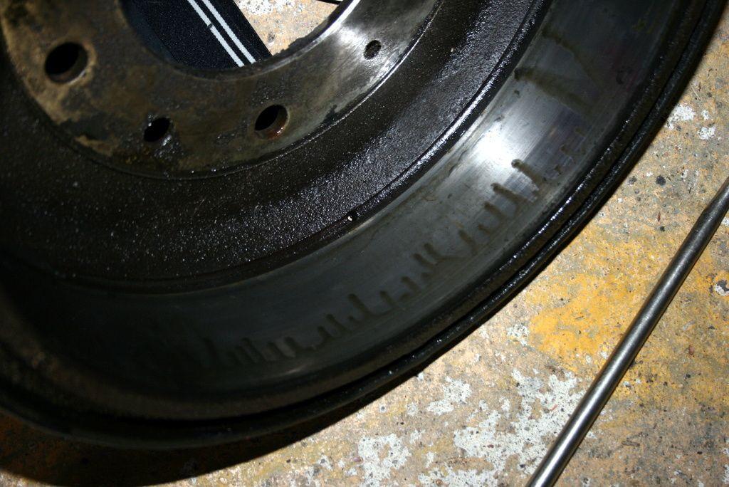 Fuite cylindre de frein