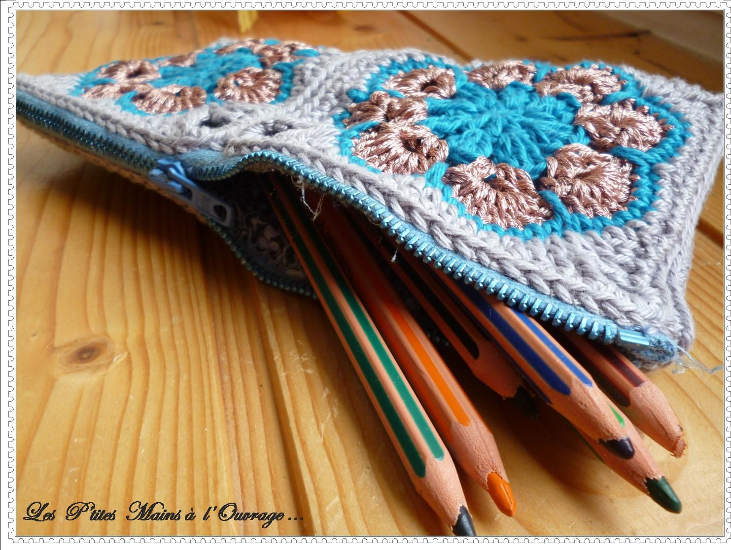 Trousse African Flower
