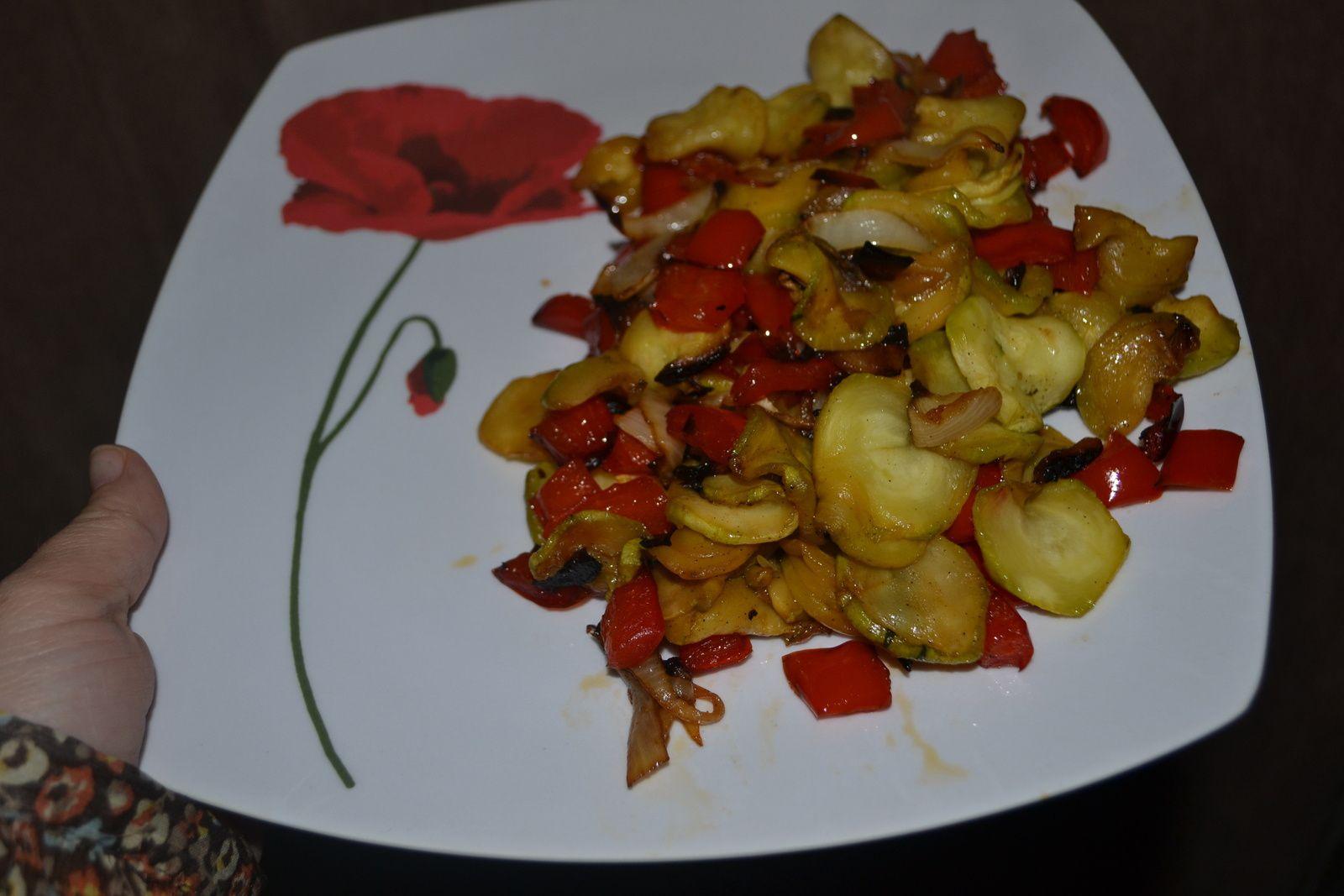 Légumes grillés a l'actifry 2in1 plus