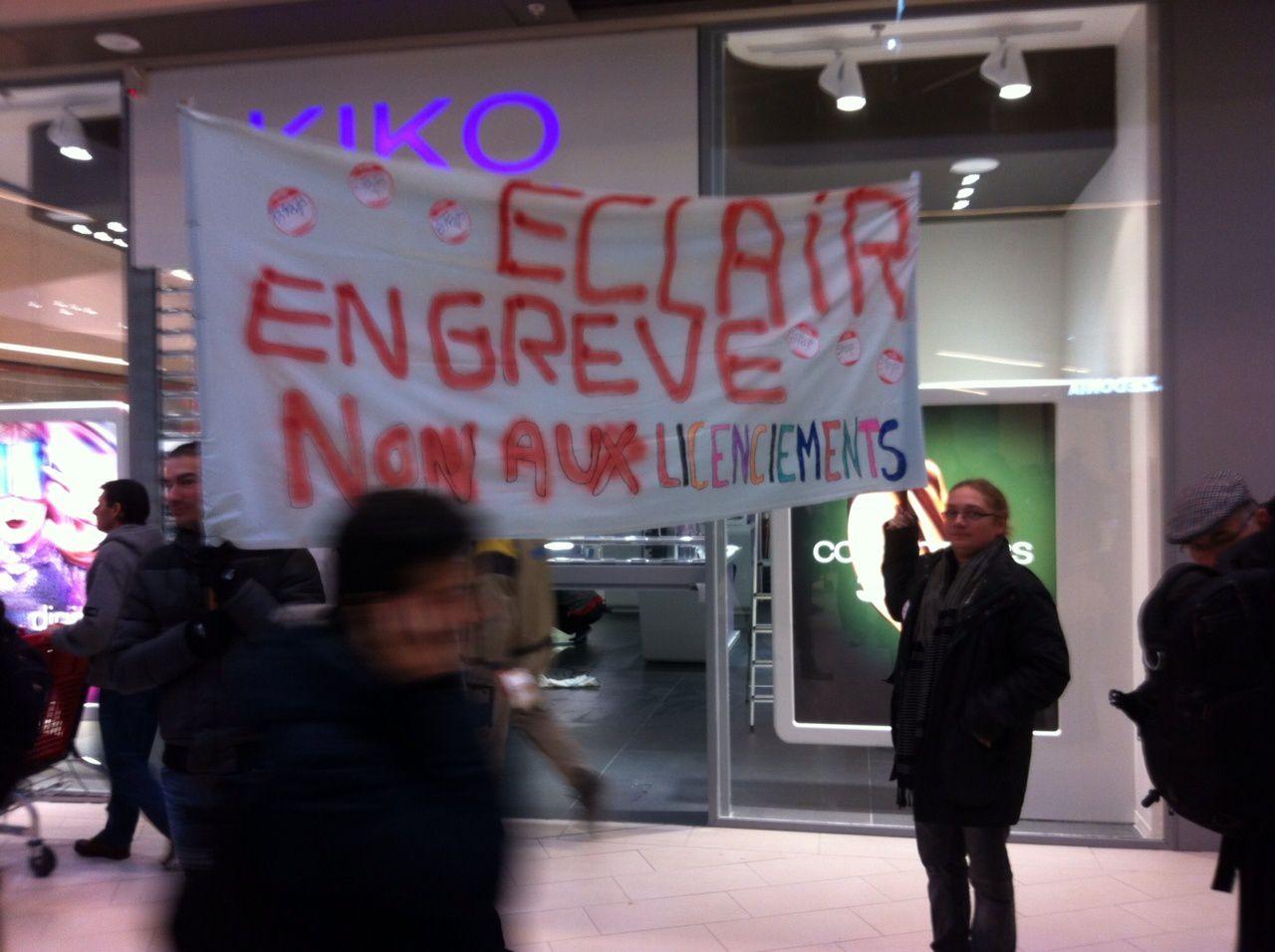 ECLAIR : Non aux licenciements !!