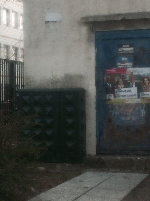 affichage sauvage collège jean Vigo