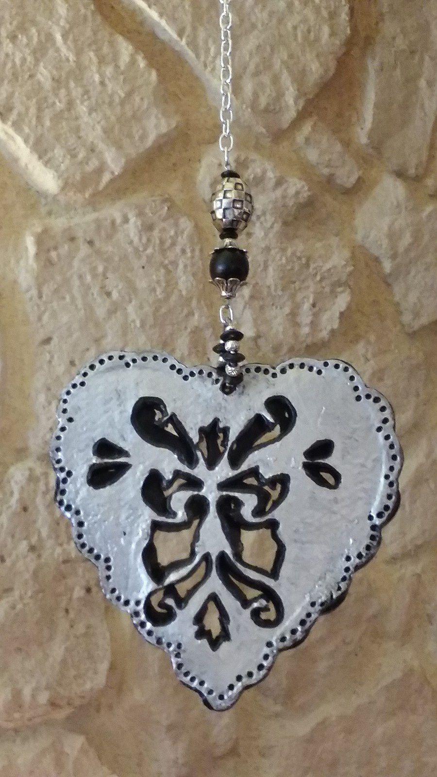Bijoux de maison en form de coeur