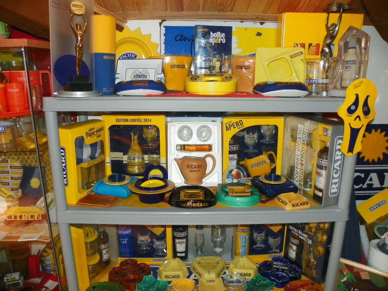 Quelques photos de mon petit musée