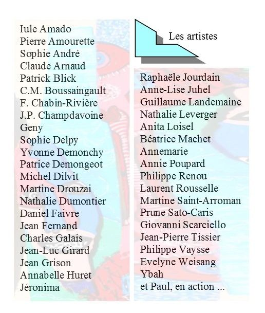 4e vide-ateliers d'artistes, 18,19, 20 juillet à Brou