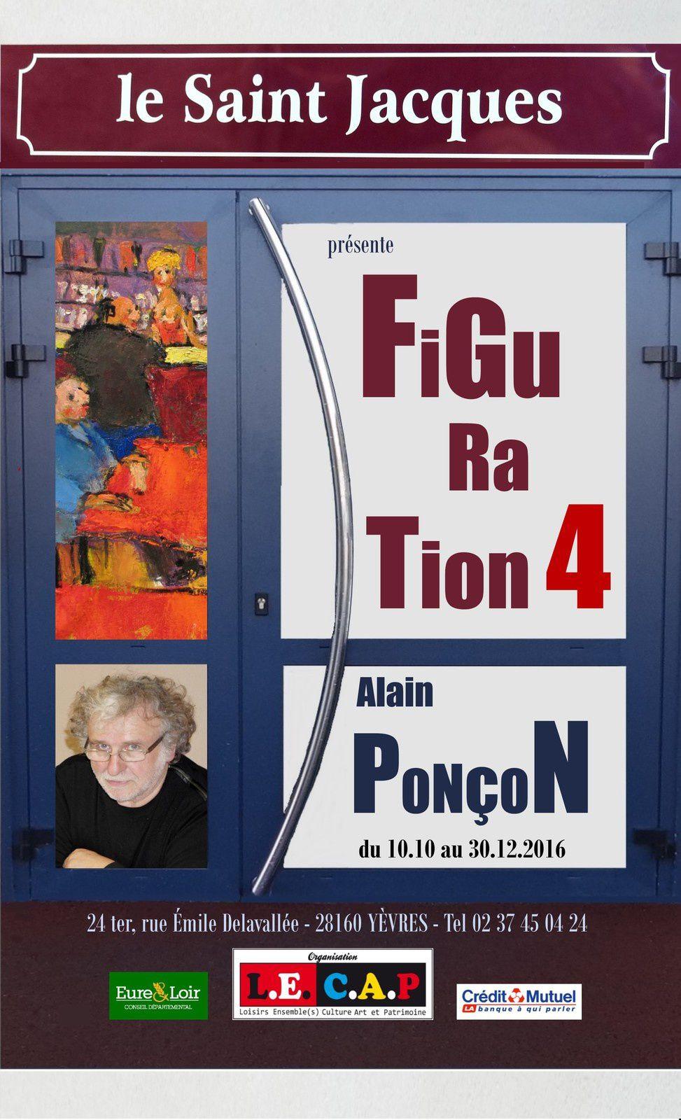 Alain Ponçon expose au Saint-Jacques