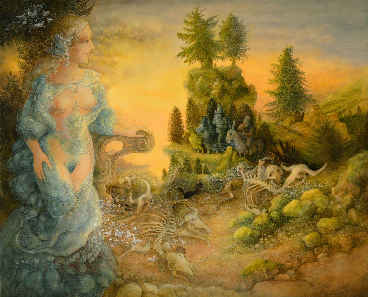"""""""Biodégradabilité"""" - huile sur toile - 100 x 81 cm - 2013"""