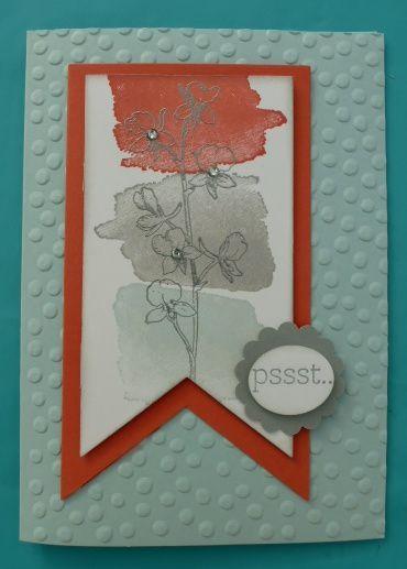 Celle pour Stéphanie. Piscime party, corail calypso, ardoise bougeoise et le set Happy watercolor