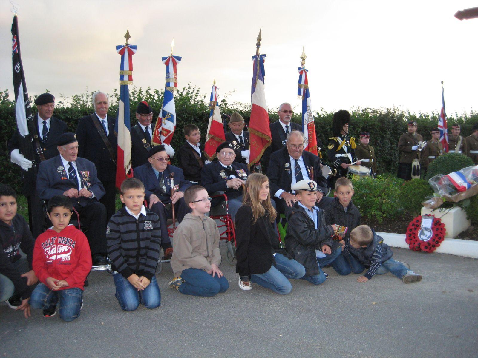 Cérémonie des Vétérans Anglais le 14 septembre 2013.