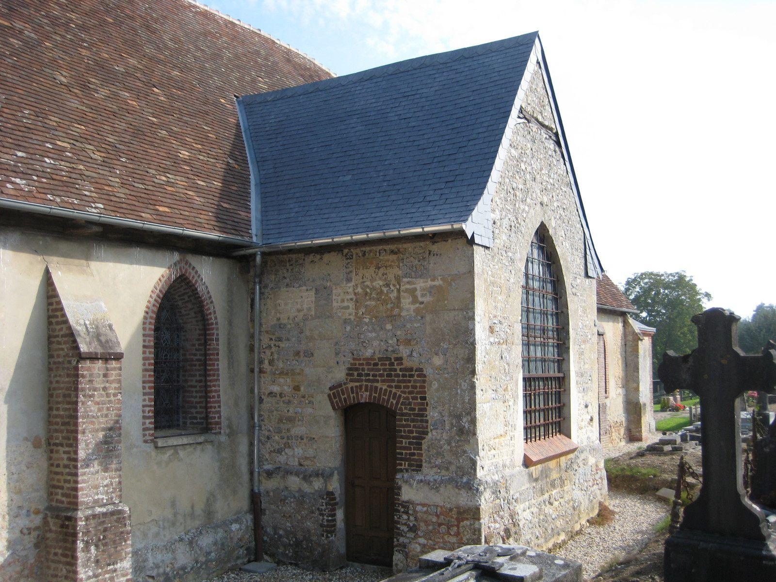 restauration avec l'aide de l'association la sauvegarde de l'église de Norolles.