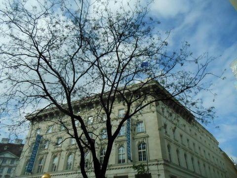 Soleil à Vienne...