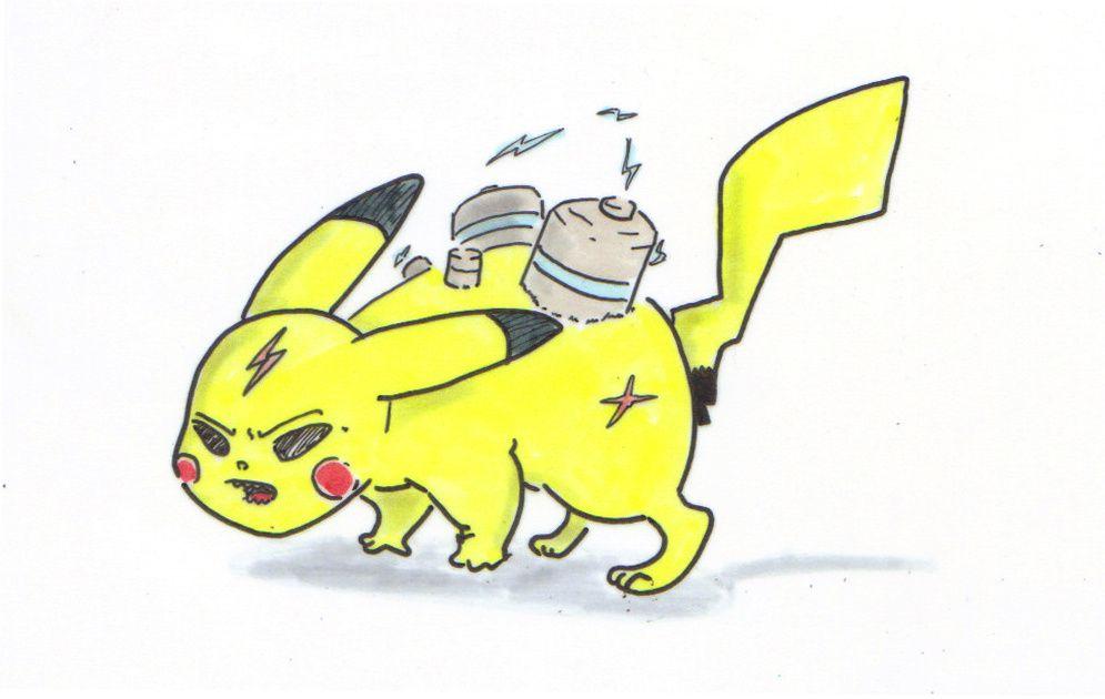 Kevin est en période Pokemon