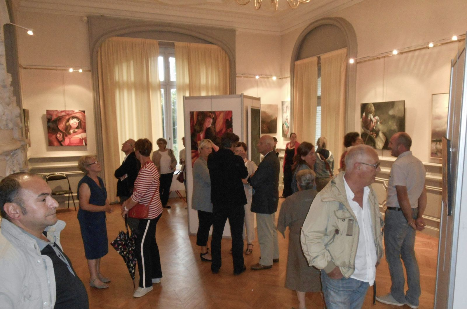 Vernissage de l'expostion  A  Contre Temps