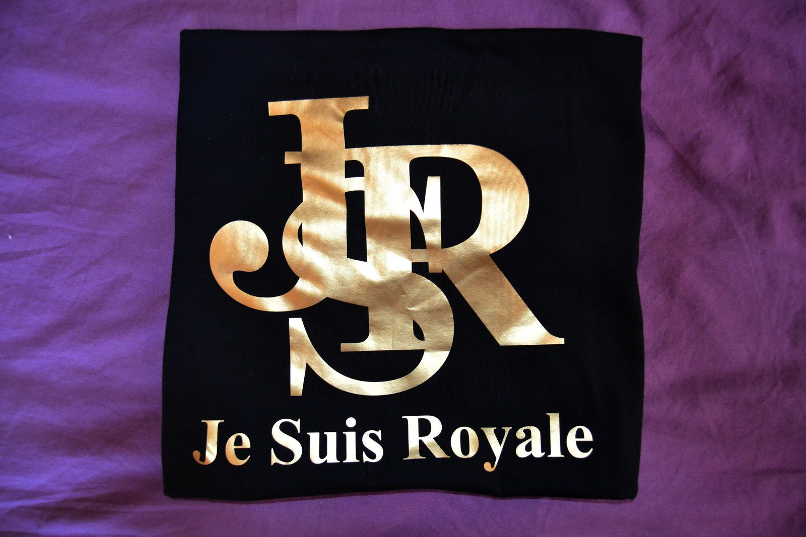 TEE-SHIRT JE SUIS ROYALE