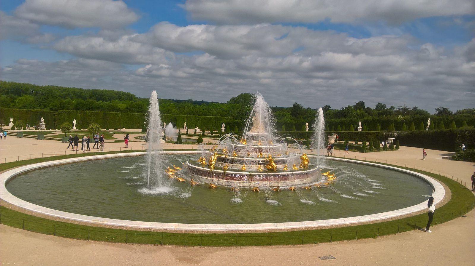 Les 5e à Versailles