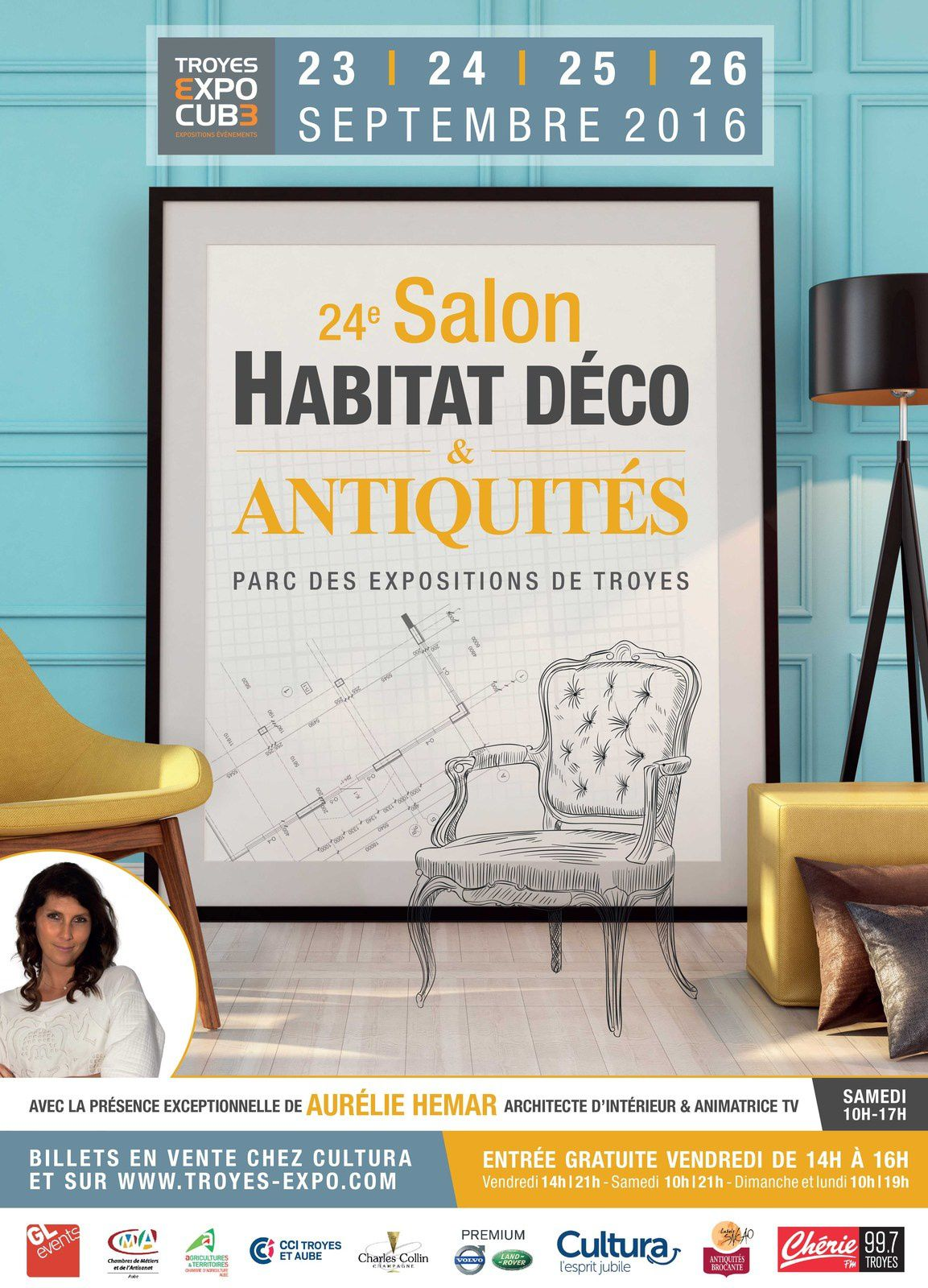 salon de l 39 habitat a troyes du 23 au 26 septembre 2016. Black Bedroom Furniture Sets. Home Design Ideas