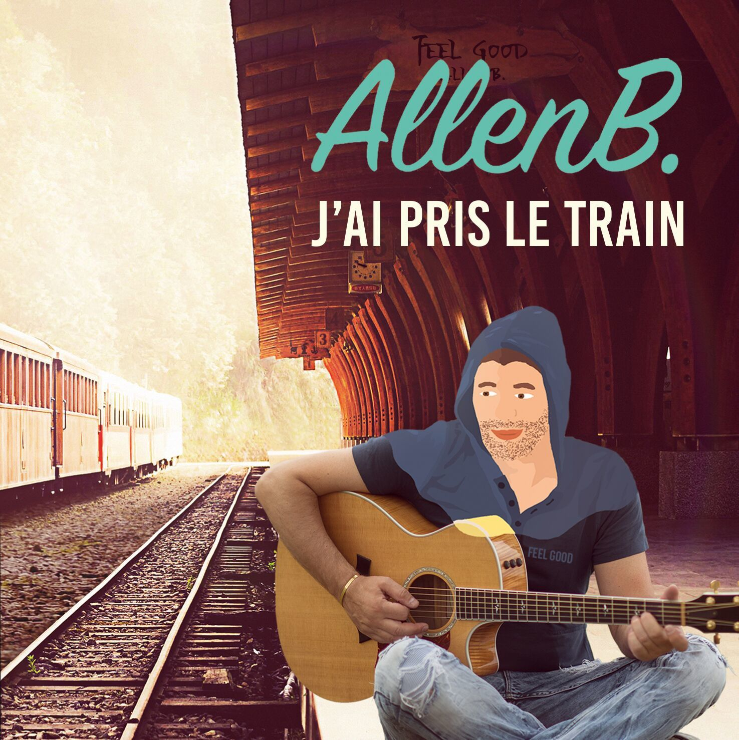 allen b, j'ai pris le train, nrj, hits
