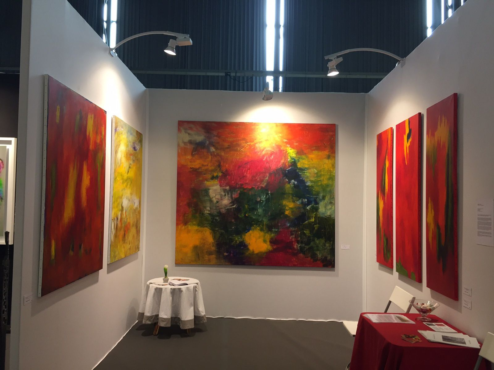 Exposition de Brigitte Garcia au Salon d'Art Contemporain Art3f Nantes 2017