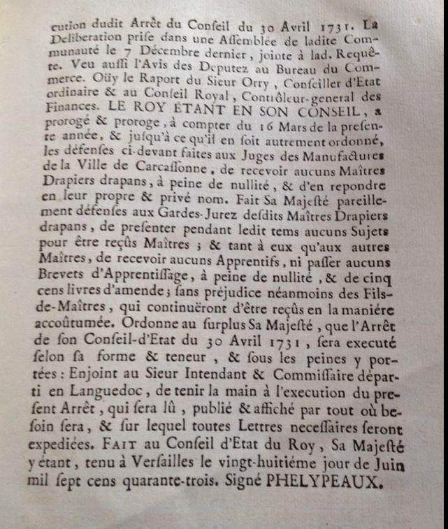 28 juin 1743