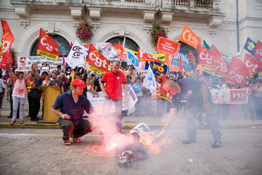 2 octobre : Montluçon se mobilise aussi le samedi 7 000 manifestants
