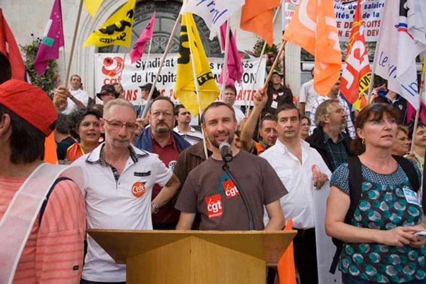 2 octobre : 7 000 manifestants à Montluçon