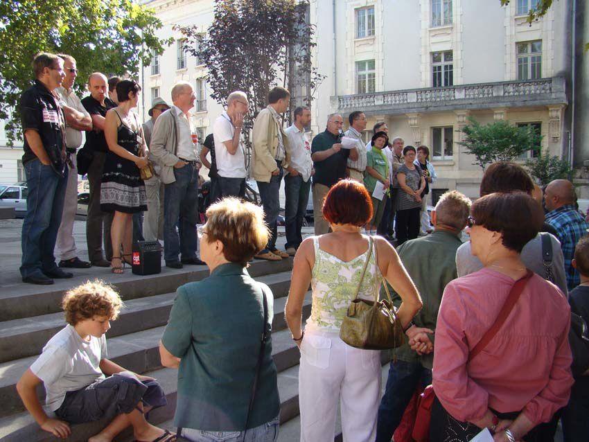 Manif le 4 septembre à Montluçon
