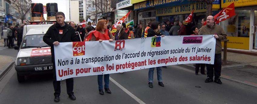 Les syndicats mobilisent contre l'ANI
