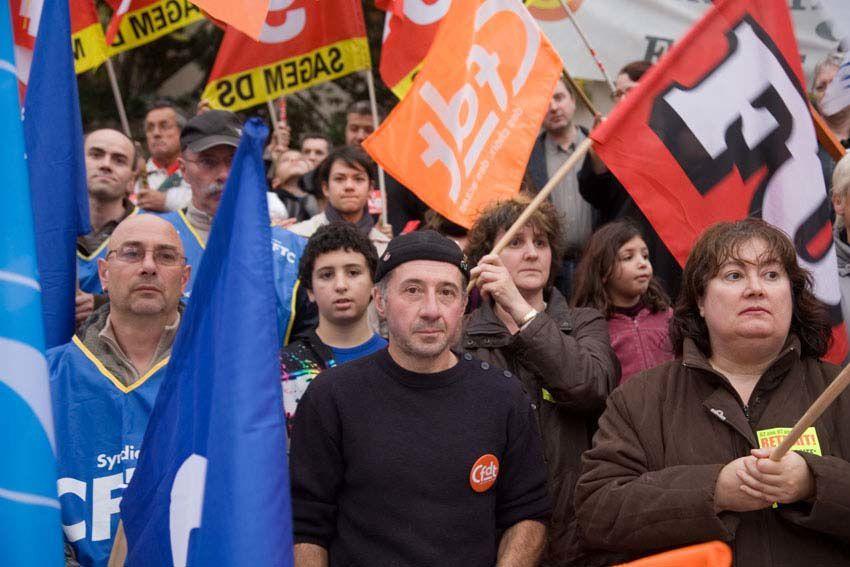 Manifestation du 6 novembre à Montluçon