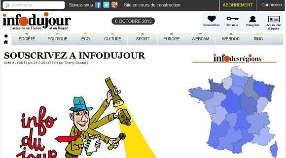 Denis Robert lance Infodujour en ligne