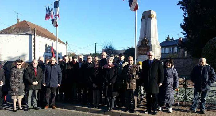 Cérémonie en mémoire des défenseurs de la République à Lapalisse
