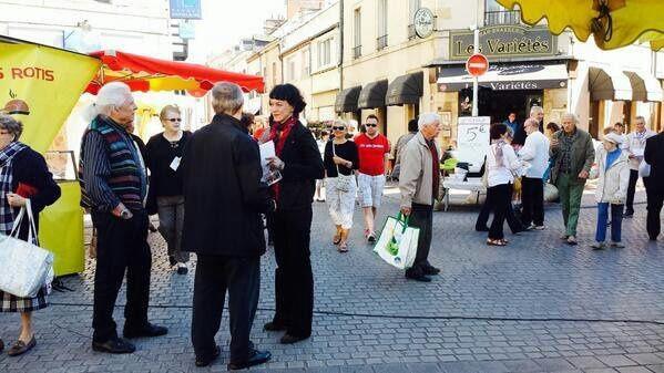 Sur le marché de la Ville Gozet