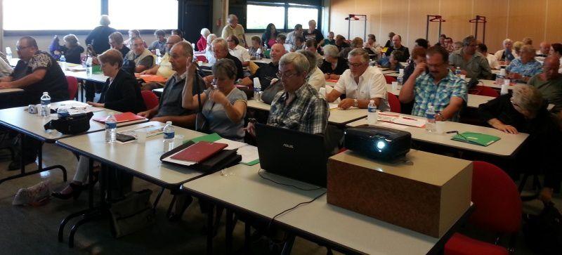 le congrès de la CNL Allier se tenait dans une des petites salles du centre Athanor