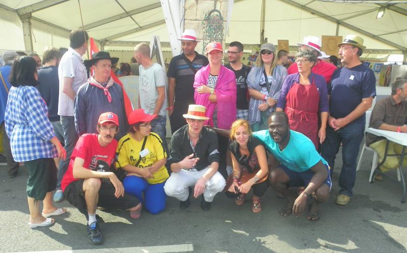 Les bourbonnais à la fête de l'huma