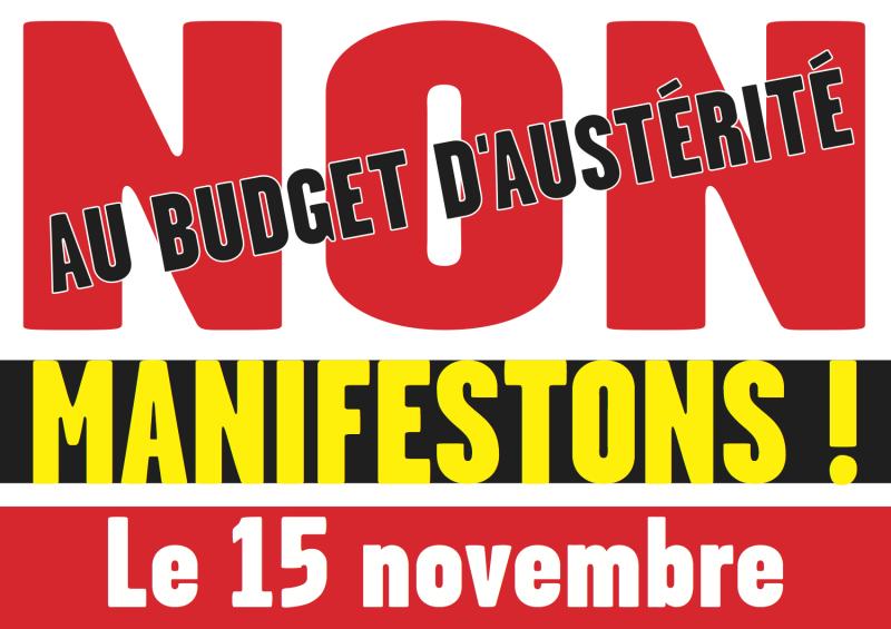 Le Collectif 3A appelle à manifester le 15 novembre dans toute la France