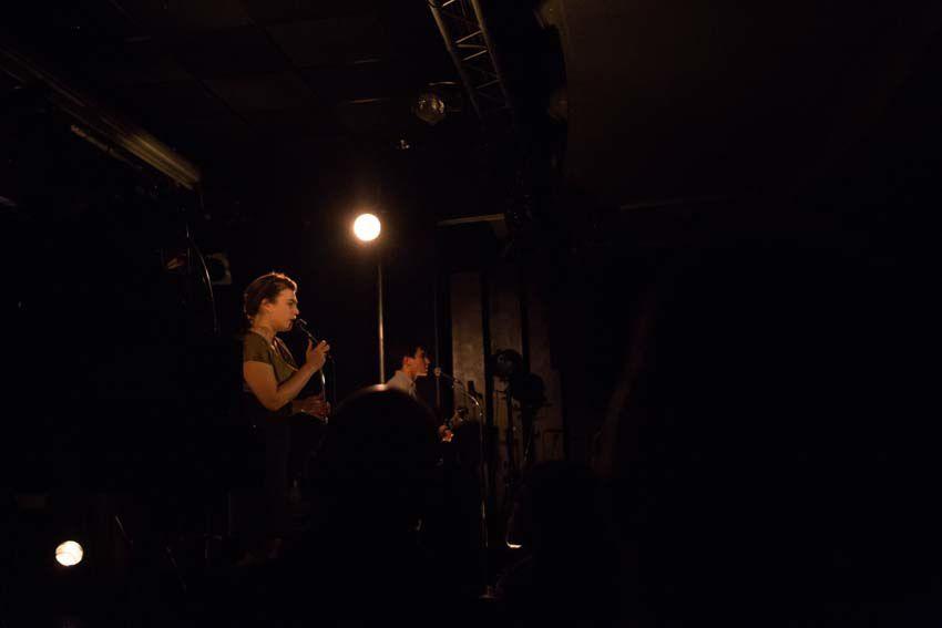 Concert Moriarty le 16 décembre dernier au Guingois. Clichés réalisés par Didier Ciancia.