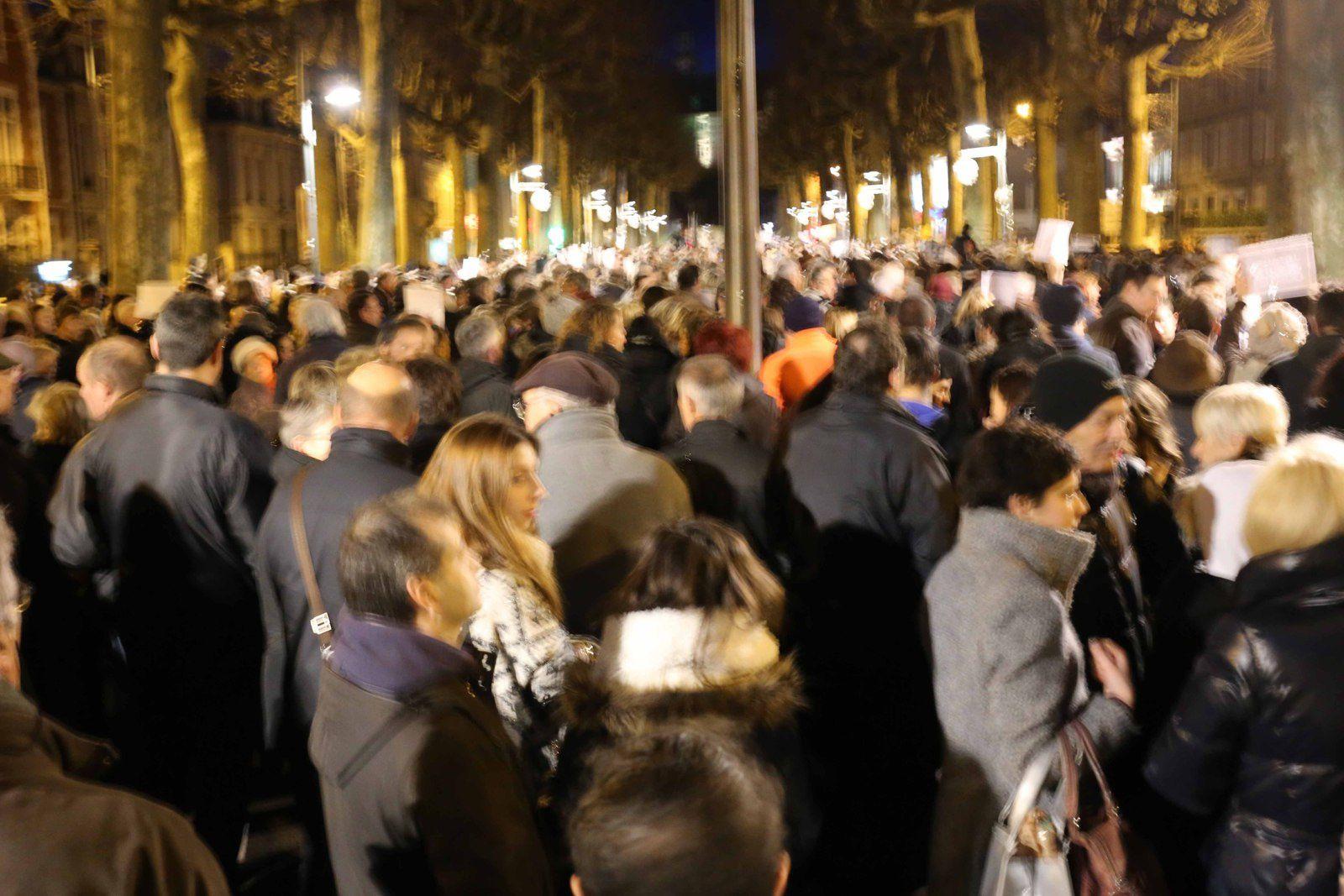 Clichés photographiques réalisés par Didier Ciancia lors du rassemblement du 8 janvier 2015. © Didier Ciancia, tous droits réservés.