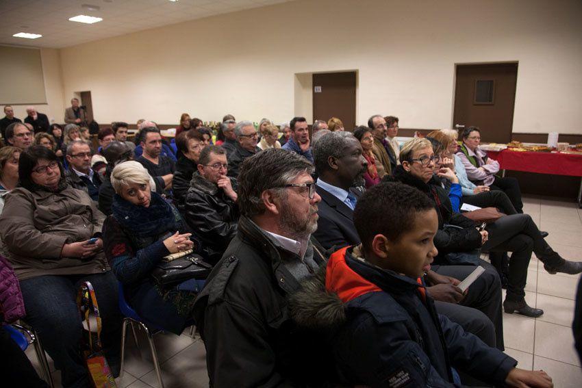 """Beaucoup de monde dans la salle Robert lebourg pour les voeux de l'association """"Montluçon dès demain"""""""