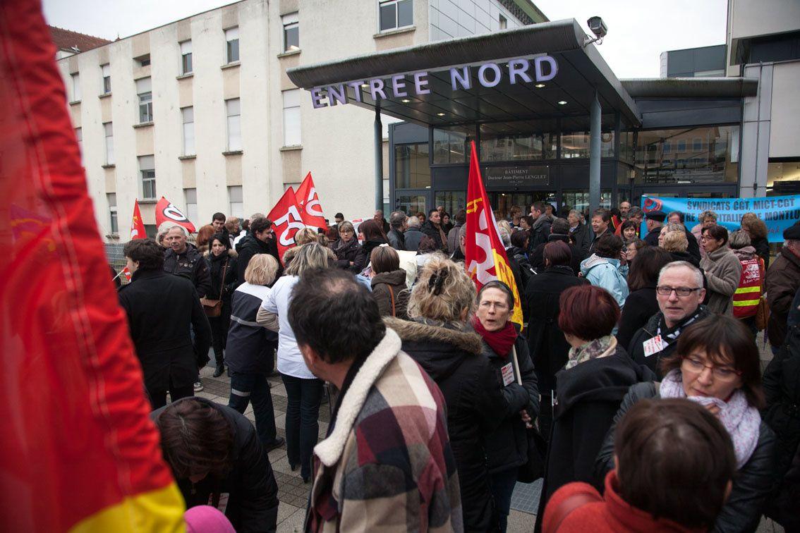 Manifestation des salariés de l'hôpital : Une suite est-elle possible ?