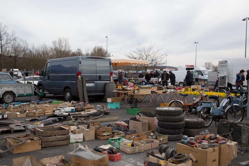 Tous ces véhicules étaient réunis ce week-end au parc des expopsition à Montluçon.