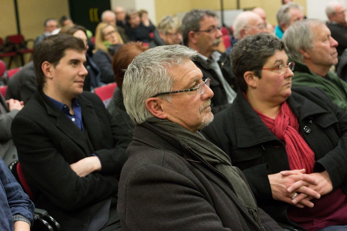 Quelques clichés pris par Didier Ciancia lors de cette soirée débat à Commentry