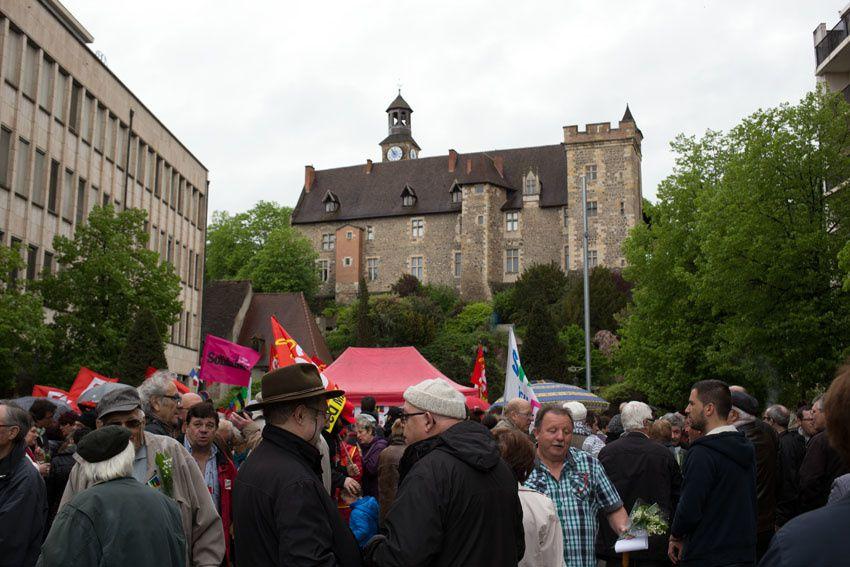 Le rassemblement du 1er mai 2015 vu par Didier Ciancia.