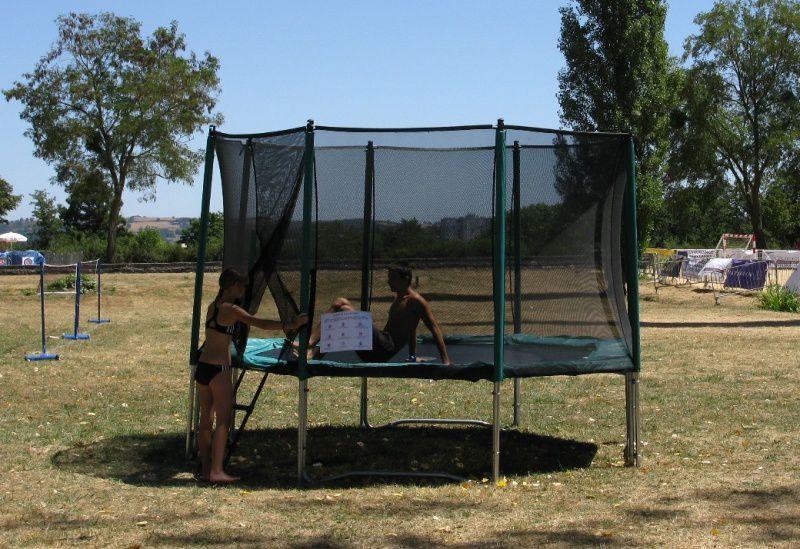 Le trampoline : Une activité qui devrait bien fonctionner