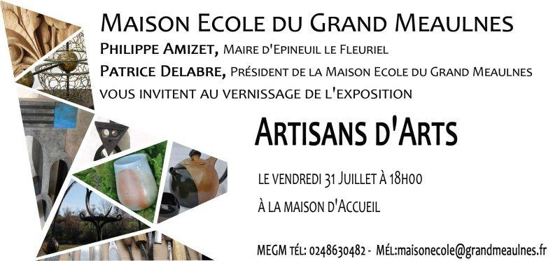 Des artisans d'art exposent leur œuvres à Epineuil-le-Fleuriel