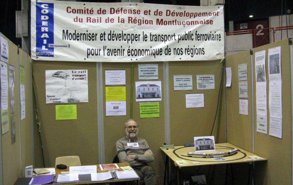 Claude Lemoine est un des militants du CODERAIL, et parfois il apporte sa contribution à Regard-Actu