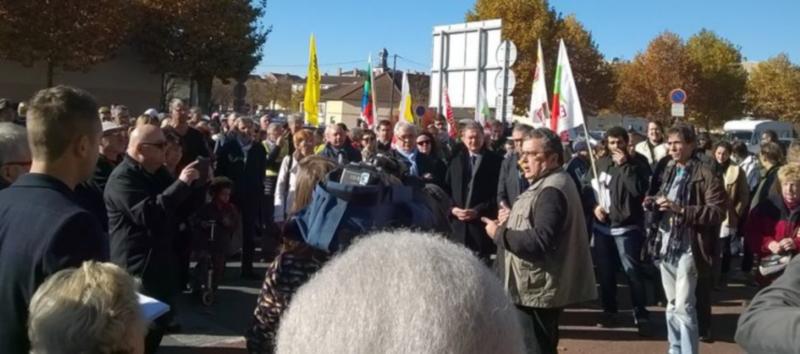 Le secrétaire de la FSU Allier insulté et menacé par un groupuscule d'extrême droite