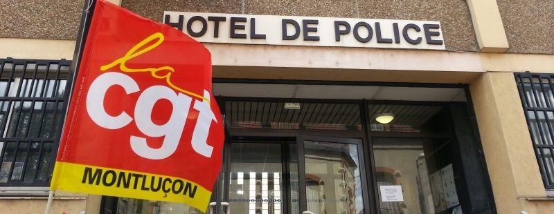 Les secrétaires de l'UD et de l'UL CGT à nouveau convoqués au commissariat de Montluçon