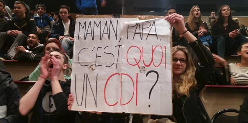 Belle mobilisation à Clermont-Ferrand