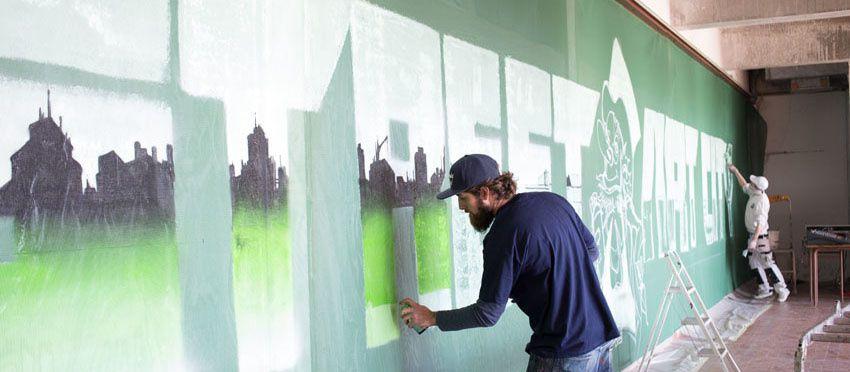 Création de &quot&#x3B;street art city&quot&#x3B;