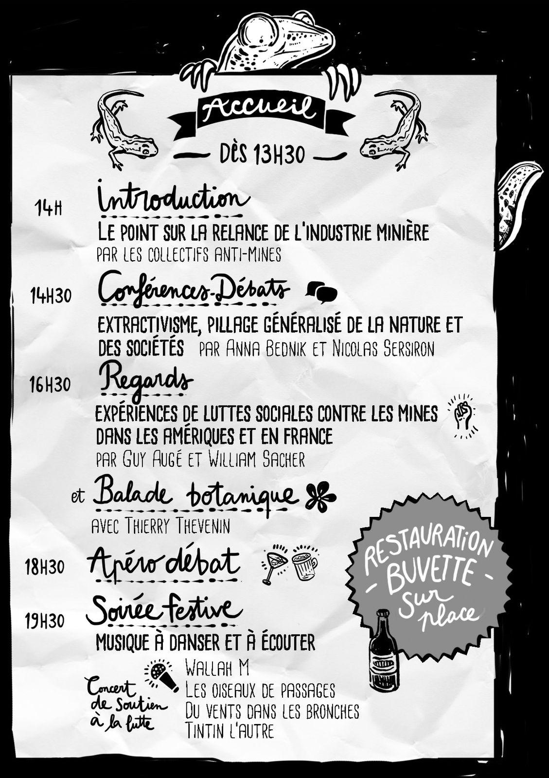 Festival Stop Mines le samedi 23 juillet à Bord Saint Georges